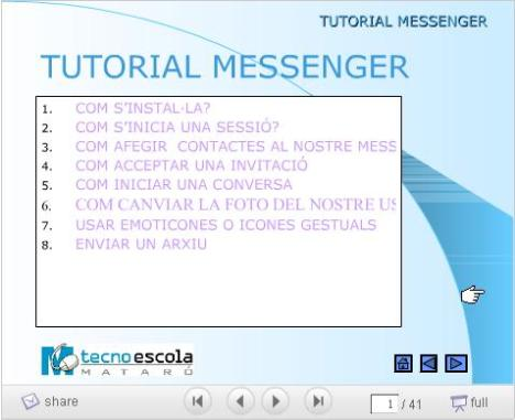 tutorial-de-messenger-en-slideshare