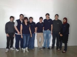 Aquesta és una fotografia del grup de dinamitzadors autors al blog ArcaBlava Mataró.